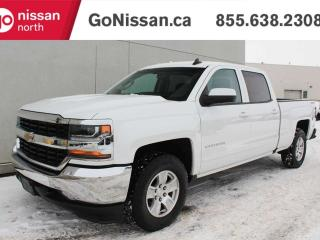 Used 2018 Chevrolet Silverado 1500 LT, 4X4, CREW, POWER SEAT,BACK UP CAMERA for sale in Edmonton, AB