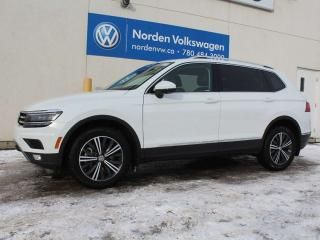 Used 2018 Volkswagen Tiguan HIGHLINE W/ DRIVERS ASSIST 4MOTION AWD - VW CERTIFIED / LEATHER NAVI / REMOTE START! for sale in Edmonton, AB