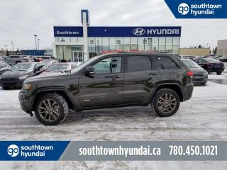 Used 2017 Jeep Grand Cherokee LIMITED 75TH ANV/HEMI/NAV/SUNROOF/LEATHER for sale in Edmonton, AB