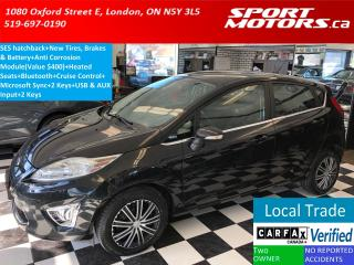 Used 2012 Ford Fiesta SES+New Tires+Brakes+Battery+Heated Seats+Bluetoot for sale in London, ON