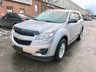 Used 2010 Chevrolet Equinox LS, FWD, NO ACCIDENT for sale in North York, ON