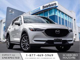 Used 2019 Mazda CX-5 1.5%@FINANCE|CPO|SIGNATURE|AWD|NAVI for sale in Scarborough, ON