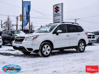 Used 2016 Subaru Forester 2.5i AWD ~Heated Seats ~Backup Camera for sale in Barrie, ON