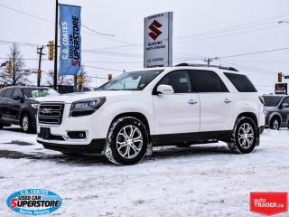 Used 2015 GMC Acadia SLT AWD ~7 Passenger ~Nav ~Heated Leather for sale in Barrie, ON