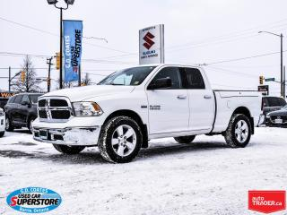 Used 2013 RAM 1500 SLT Quad Cab 4x4 ~RamBox ~Power Seat for sale in Barrie, ON