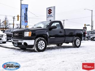 Used 2009 GMC Sierra 1500 Regular Cab 4x4 ~8 Foot Box ~Great Work Truck for sale in Barrie, ON