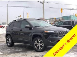 Used 2014 Jeep Cherokee *Trailhawk*Comft Conv/Tech/Cold Weather Groups for sale in Mississauga, ON