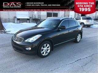 Used 2010 Infiniti EX35 LEATHER/REAR VIEW CAMERA for sale in North York, ON