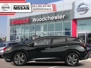 New 2019 Nissan Murano SL AWD  - Navigation -  Sunroof - $293.88 B/W for sale in Mississauga, ON