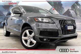 Used 2015 Audi Q7 3.0 TDI Vorsprung Edition + S-Line | Blind Spot for sale in Whitby, ON