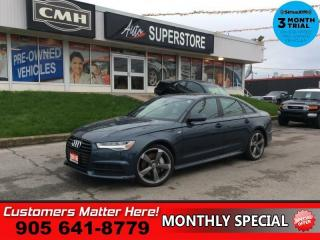 Used 2016 Audi A6 2.0T quattro Technik  S-LINE CS BS 360-CAM BOSE for sale in St. Catharines, ON