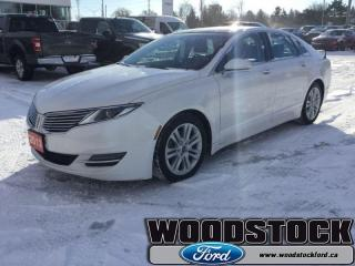 Used 2013 Lincoln MKZ 0  PANORAMIC MOONROOF - NAVIGATION - for sale in Woodstock, ON