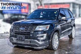 Used 2017 Ford Explorer XLT  - Heated Seats -  Bluetooth for sale in Thornhill, ON