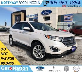 Used 2016 Ford Edge SEL   NAV   REMOTE START   TOW PKG for sale in Brantford, ON
