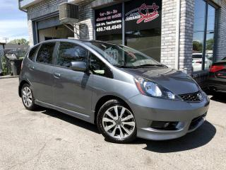 Used 2013 Honda Fit Hayon 5 portes, boîte automatique, Sport for sale in Longueuil, QC