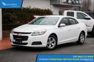 Used 2016 Chevrolet Malibu Limited LT Satellite Radio for sale in Coquitlam, BC
