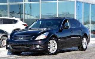 Used 2012 Infiniti G37 X Luxury Awd Navi Cuir for sale in Lachine, QC