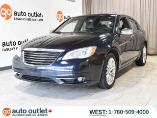 Used 2011 Chrysler 200 LIMITED V6; LEATHER HEATED SEATS, NAVIGATION, SUNROOF for sale in Edmonton, AB