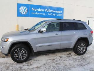 Used 2017 Jeep Grand Cherokee LIMITED 4WD - LEATHER / SUNROOF /NAVI for sale in Edmonton, AB