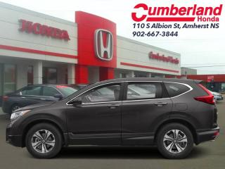 New 2019 Honda CR-V LX AWD  - Heated Seats for sale in Amherst, NS