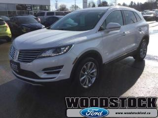 Used 2017 Lincoln MKC Select  - Leather Seats -  Bluetooth for sale in Woodstock, ON