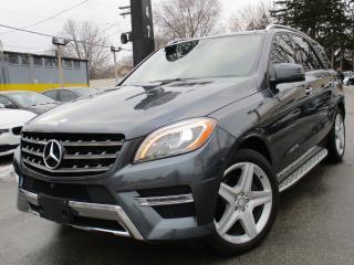 Used 2015 Mercedes-Benz ML-Class ML 350 4MATIC BLUETEC~AMG PKG~NAVI~PANORAMA~360CAM for sale in Burlington, ON