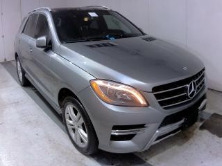 Used 2015 Mercedes-Benz ML-Class ML 350 4MATIC BLUETEC~88KMS~NAVI~PANORAMA for sale in Burlington, ON