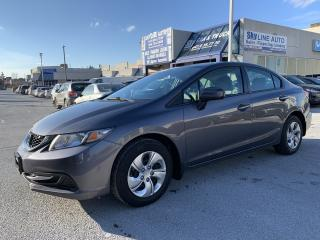Used 2015 Honda Civic LX CAMERA|HEATED SEATS|BLUETOOTH|CERTIFIED for sale in Concord, ON