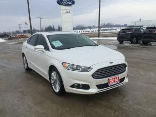 Used 2014 Ford Fusion SE | AWD | Accident Free | Navigation for sale in Harriston, ON