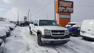 Used 2004 Chevrolet Silverado 2500 **DURAMAX DIESEL**CREW CAB**LONG BOX**AS IS** for sale in London, ON
