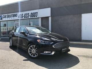 Used 2017 Ford Fusion SE Hybrid-LEATHER-CAMERA for sale in Toronto, ON