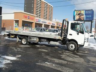 Used 2013 Hino 195 195|DANCO ROLL BACK TOW TRUCK|21 Ft FLAT BED for sale in Toronto, ON