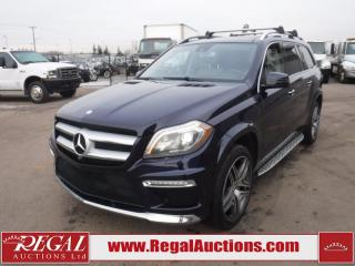 Used 2015 Mercedes-Benz GL450 GL-CLASS 4D Utility 7PASS AWD 3.0L for sale in Calgary, AB