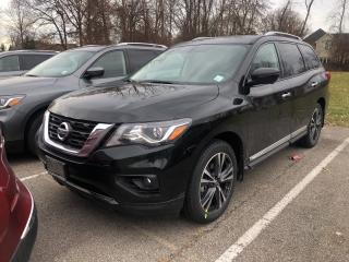 New 2019 Nissan Pathfinder Platinum V6 4x4 at for sale in St. Catharines, ON