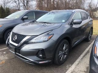 New 2019 Nissan Murano Platinum AWD CVT for sale in St. Catharines, ON
