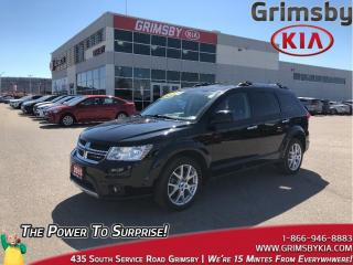 Used 2015 Dodge Journey R/T| DVD| Navi| Leather| Sunroof |AWD |Backup Cam for sale in Grimsby, ON