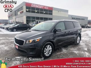 Used 2018 Kia Sedona LX| Backup Cam| Heat Seat | Rear Air & Heat for sale in Grimsby, ON