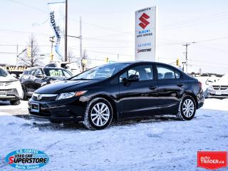 Used 2012 Honda Civic EX-L ~Nav ~Heated Leather ~Power Moonroof for sale in Barrie, ON
