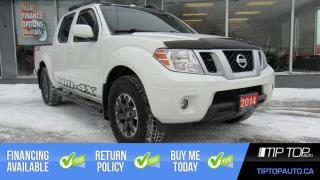 Used 2014 Nissan Frontier PRO-4X ** 4x4, Nav, 4.0L V6, Leather, Sunroof ** for sale in Bowmanville, ON