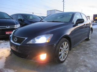 Used 2007 Lexus IS 250 LEATHER HEATED SEATS for sale in Brampton, ON