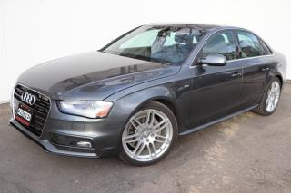 Used 2013 Audi A4 S-Line Quattro Navigation Sunroof Premium Package for sale in Mississauga, ON