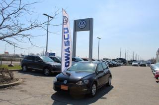 Used 2016 Volkswagen Golf 1.8 TSI Comfortline | Sat. Radio & Back Up Cam! for sale in Whitby, ON