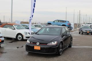 Used 2015 Volkswagen GTI 5-Door Autobahn for sale in Whitby, ON