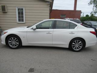 Used 2015 Infiniti Q50 Sport AWD,TECK PACK, NAVI for sale in Oshawa, ON