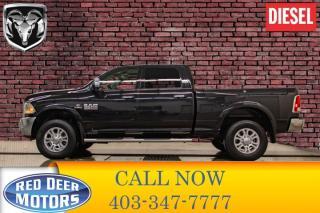 Used 2017 RAM 3500 4x4 Crew Cab Laramie Diesel AISIN for sale in Red Deer, AB
