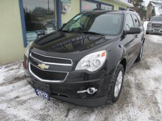 Used 2012 Chevrolet Equinox LOADED 2-LT MODEL 5 PASSENGER 2.4L - ECO-TEC.. LEATHER.. HEATED SEATS.. PIONEER AUDIO.. POWER SUNROOF.. BACK-UP CAMERA.. for sale in Bradford, ON