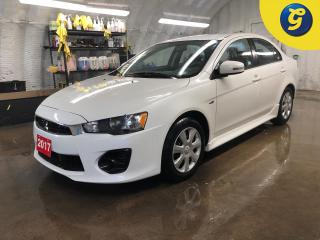 Used 2017 Mitsubishi Lancer ES * CVT * Mitsubishi motors corporation system link touch screen * Heated front seats * Hands-free steering wheel controls * Voice recognition * Phon for sale in Cambridge, ON