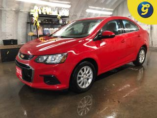 Used 2018 Chevrolet Sonic LT * WIFI hot spot * Chevy my link touch screen * Phone connect * Voice recognition * Reverse camera * Remote start * Blindspot assist * Heated front for sale in Cambridge, ON