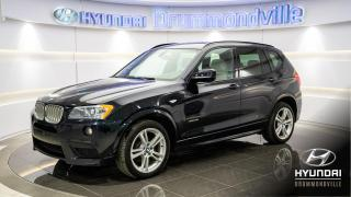 Used 2013 BMW X3 35i XDRIVE + M PACK + GARANTIE +MAGS + T for sale in Drummondville, QC