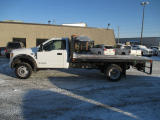 Used 2018 Ford F-550 XL.REG,CAB.4X4 14 FT.DEL FLAT BED. for sale in London, ON